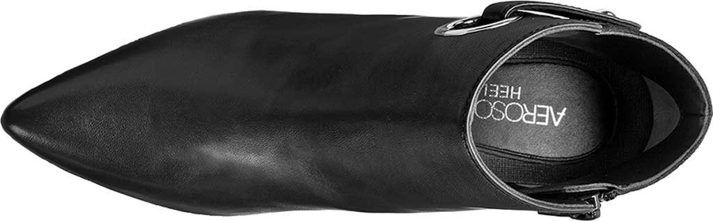 Women's Aerosoles Final Word Ankle Bootie, Black Leather, large, image 4