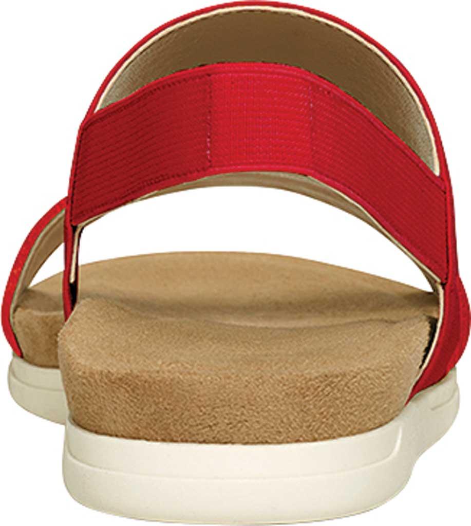Women's Aerosoles Hoboken Slingback Sandal, Red Faux Leather/Elastic, large, image 3