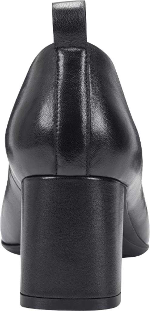 Women's Aerosoles Mariah Heeled Loafer, Black Leather, large, image 3
