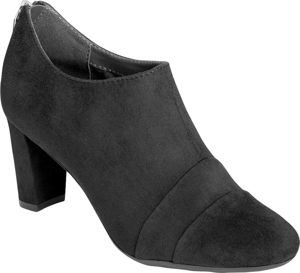 Women's Aerosoles Sixth Avenue Bootie, Black Faux Leather, large, image 1