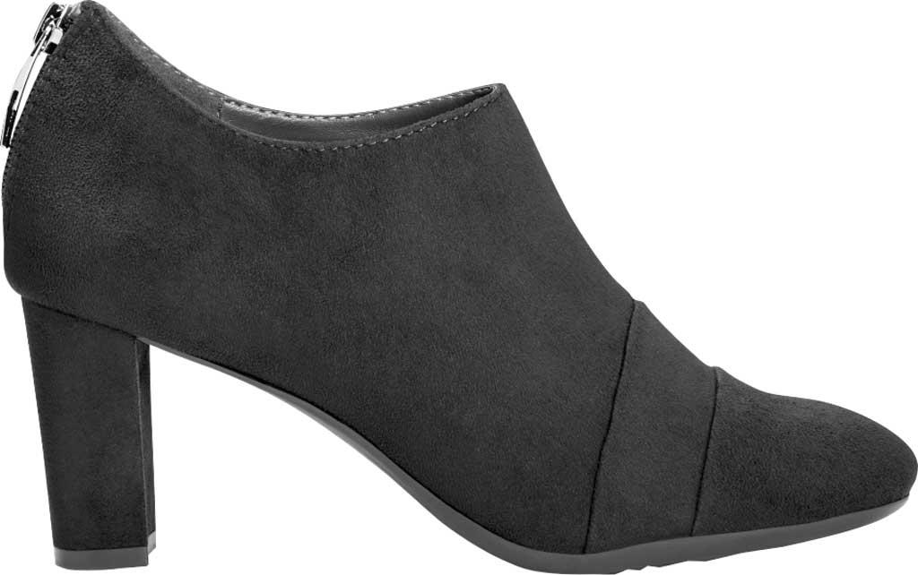 Women's Aerosoles Sixth Avenue Bootie, Black Faux Leather, large, image 2