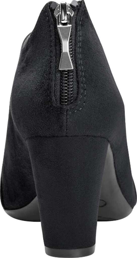 Women's Aerosoles Sixth Avenue Bootie, Black Faux Leather, large, image 3