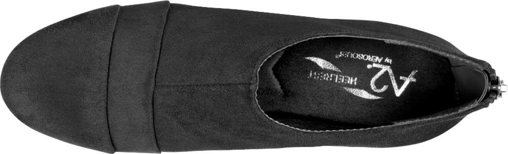 Women's Aerosoles Sixth Avenue Bootie, Black Faux Leather, large, image 4