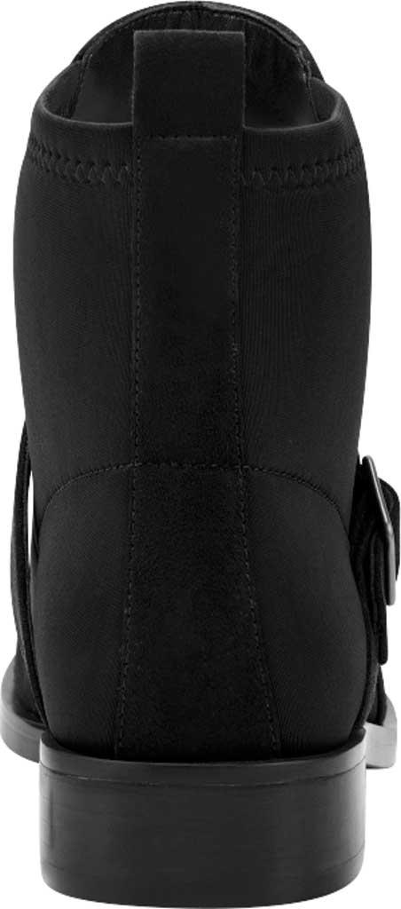 Women's Aerosoles Beata Ankle Boot, Black Faux Nubuck/Neoprene Fabric, large, image 3