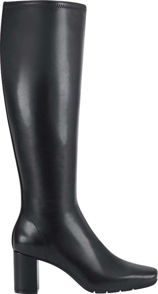 Women's Aerosoles Micah Knee High Boot, Black Stretch Faux Leather, large, image 2