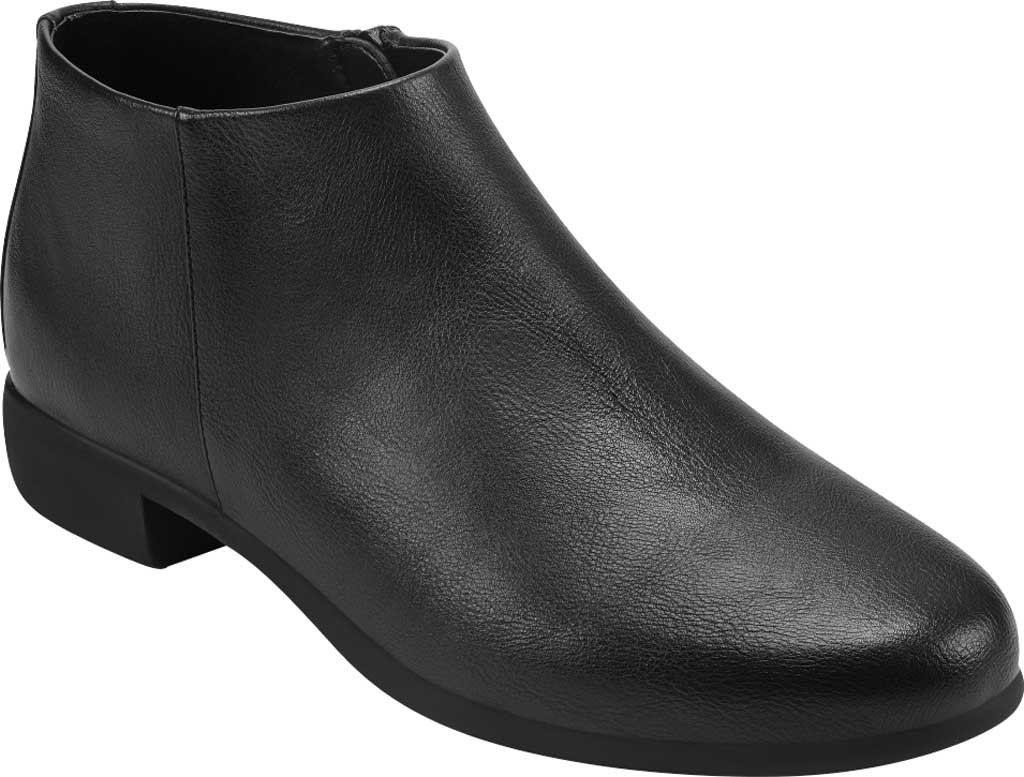 Women's Aerosoles Sophia Bootie, Black Faux Leather, large, image 1