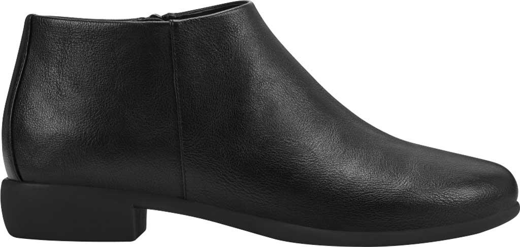 Women's Aerosoles Sophia Bootie, Black Faux Leather, large, image 2