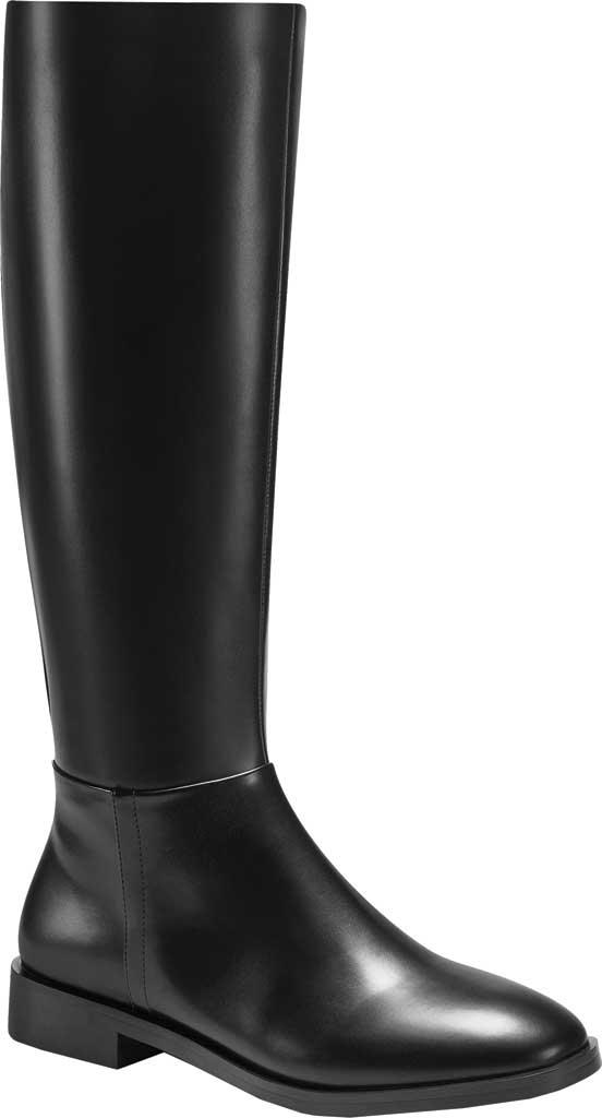 Women's Aerosoles Berri Riding Boot, Black Faux Leather, large, image 1