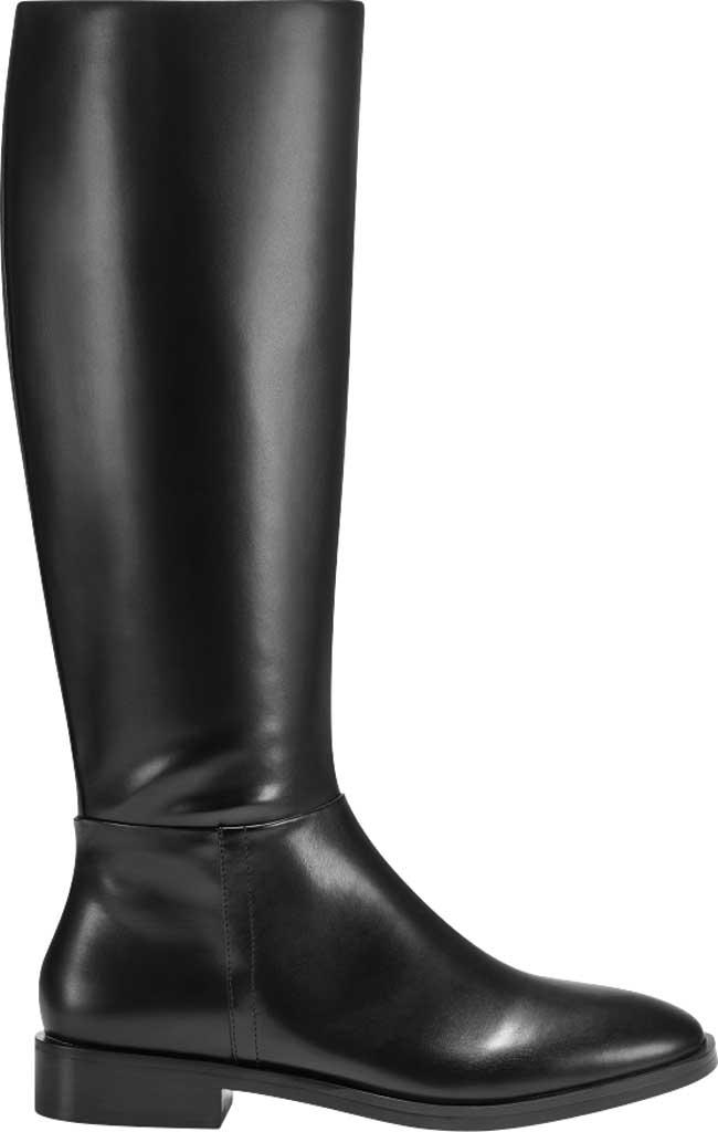 Women's Aerosoles Berri Riding Boot, Black Faux Leather, large, image 2
