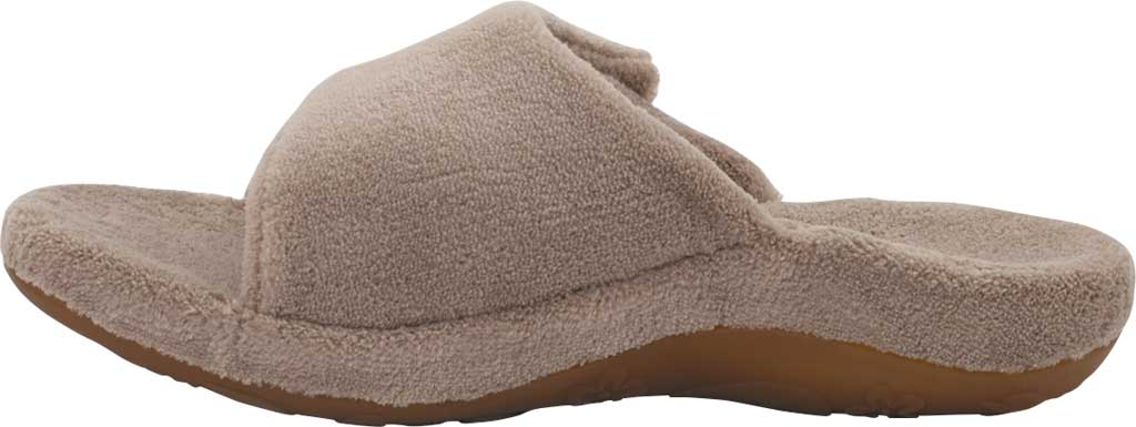 Women's Aetrex Shelby Slipper, Coffee Cotton, large, image 3