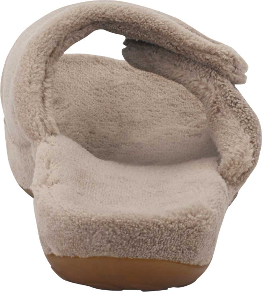 Women's Aetrex Shelby Slipper, Coffee Cotton, large, image 4