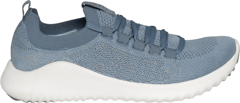 Women's Aetrex Carly Sneaker, Light Blue Synthetic, large, image 2
