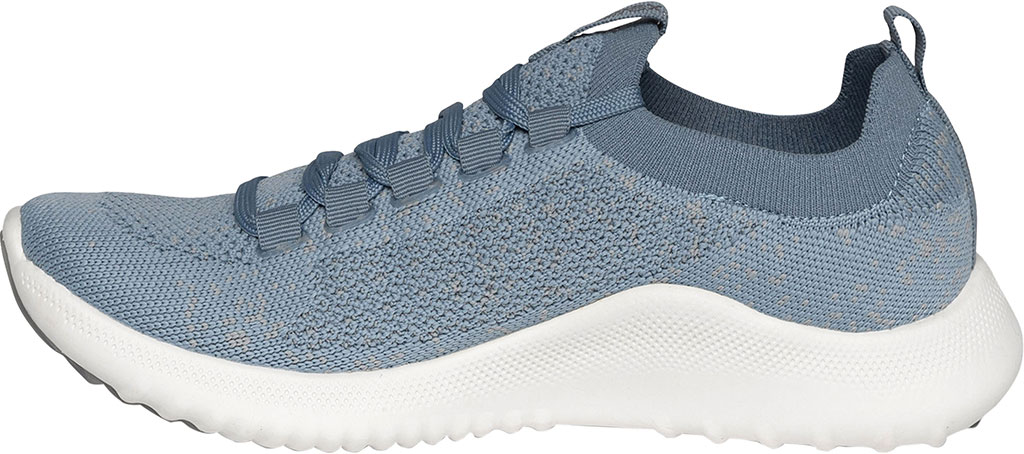 Women's Aetrex Carly Sneaker, Light Blue Synthetic, large, image 3