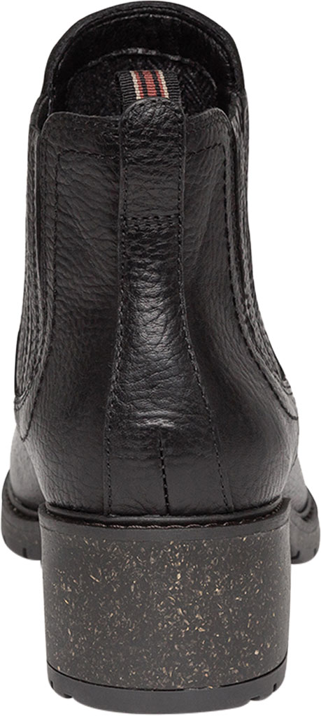 Women's Aetrex Willow Chelsea Bootie, Black Leather/Fabric, large, image 4