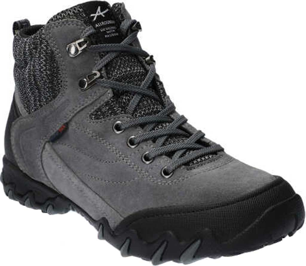 Women's Allrounder by Mephisto Nigata Tex Sneaker, Black/Shark Suede/Rubber, large, image 1
