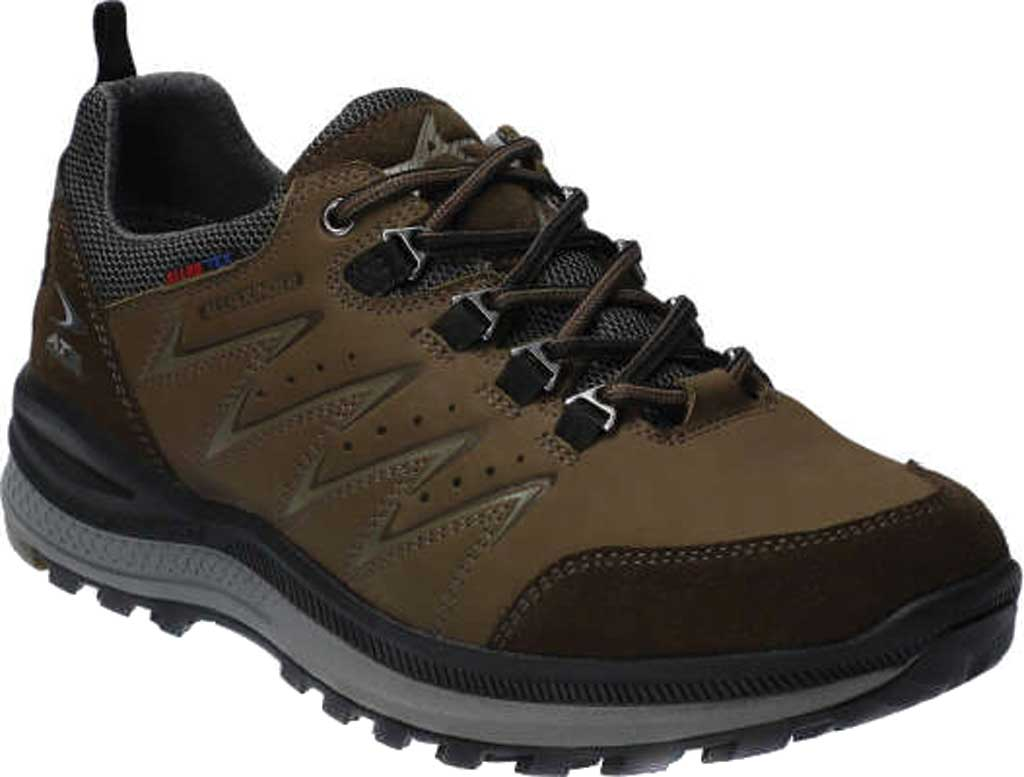 Men's Allrounder by Mephisto Rake Off Tex Trekking Shoe, Moss/Moss Suede, large, image 1