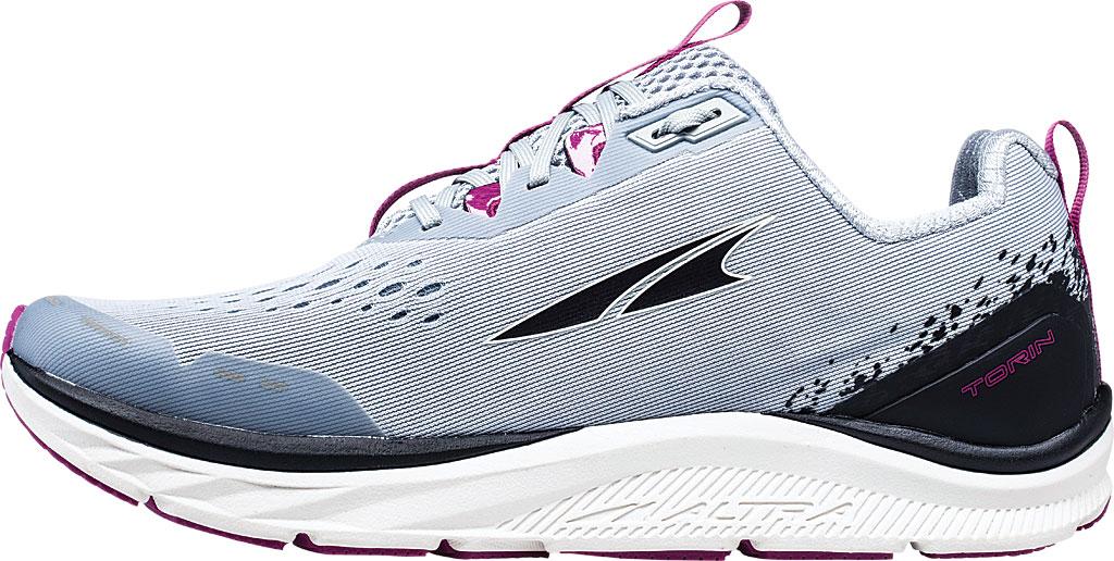 Women's Altra Footwear Torin 4 Running Shoe, Gray/Purple, large, image 2