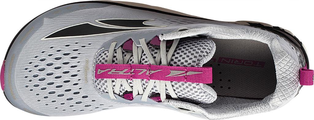 Women's Altra Footwear Torin 4 Running Shoe, Gray/Purple, large, image 3