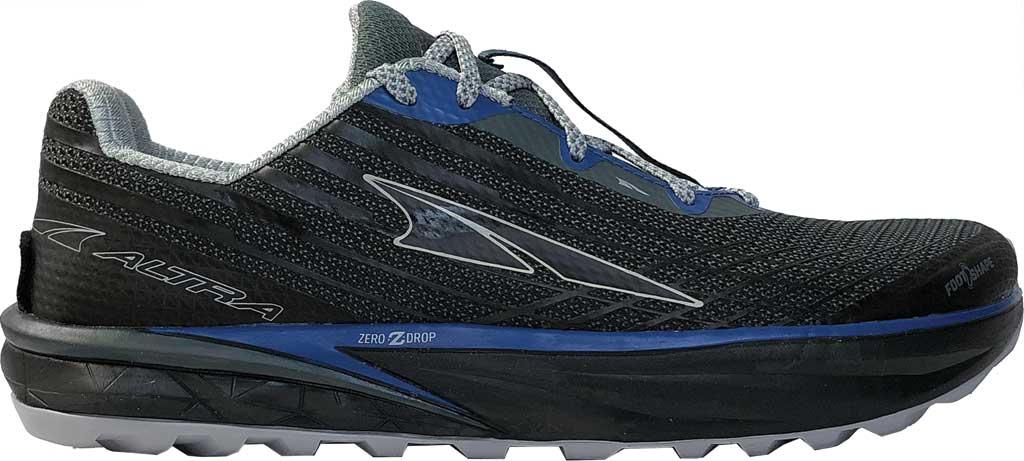 Men's Altra Footwear Timp 2 Trail Running Shoe, Gray/Blue, large, image 1
