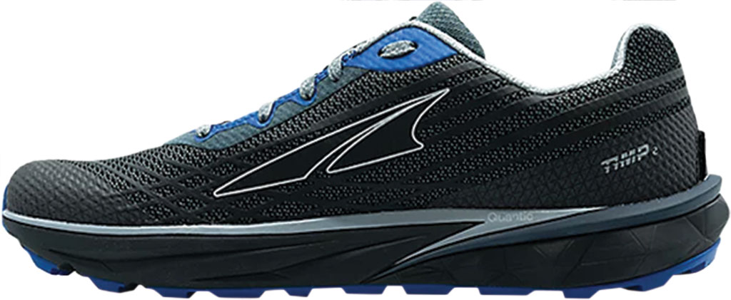Men's Altra Footwear Timp 2 Trail Running Shoe, Gray/Blue, large, image 2