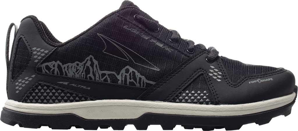 Children's Altra Footwear Youth Lone Peak Sneaker, Black, large, image 1