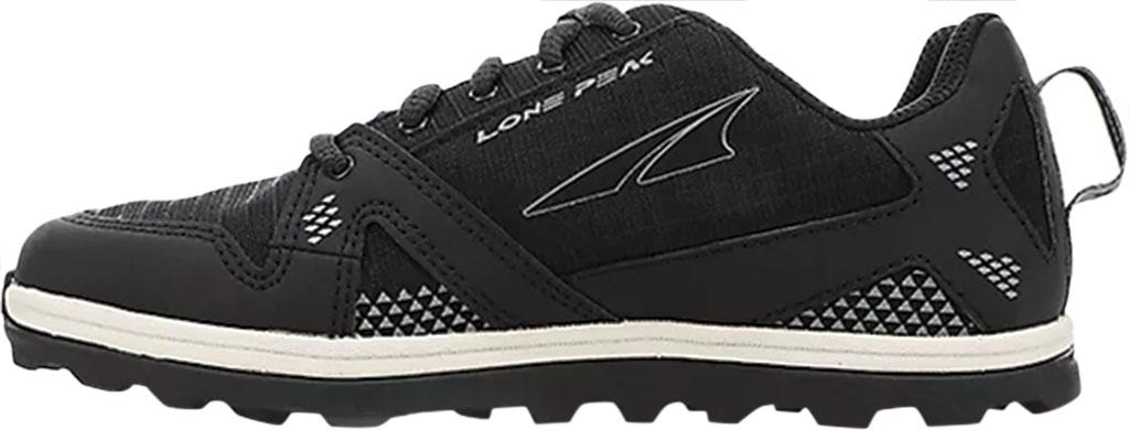 Children's Altra Footwear Youth Lone Peak Sneaker, Black, large, image 2