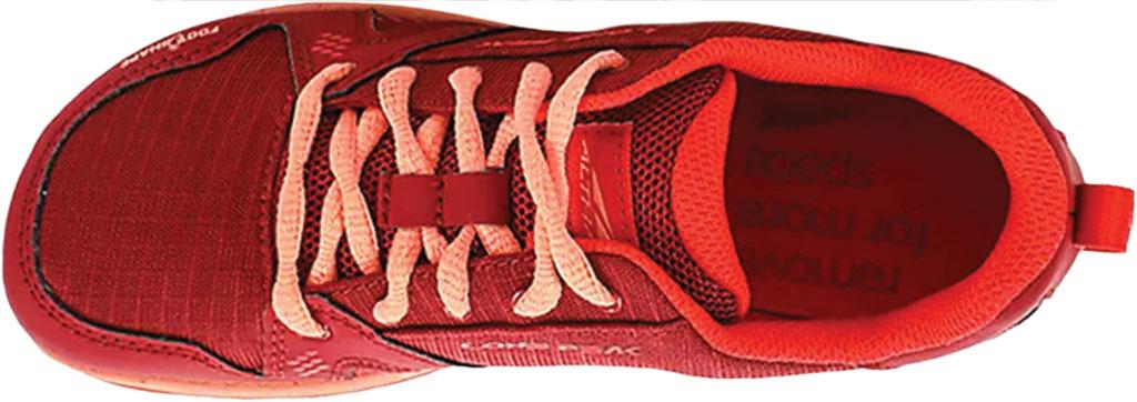 Children's Altra Footwear Youth Lone Peak Sneaker, Poppy, large, image 3