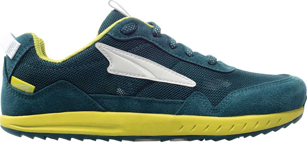 Children's Altra Footwear Kokiri Sneaker, Teal/Lime, large, image 1