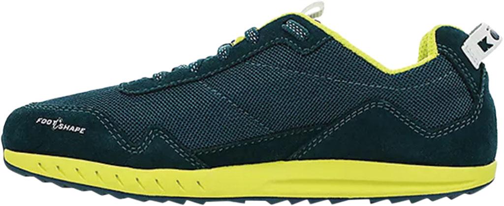 Children's Altra Footwear Kokiri Sneaker, Teal/Lime, large, image 2
