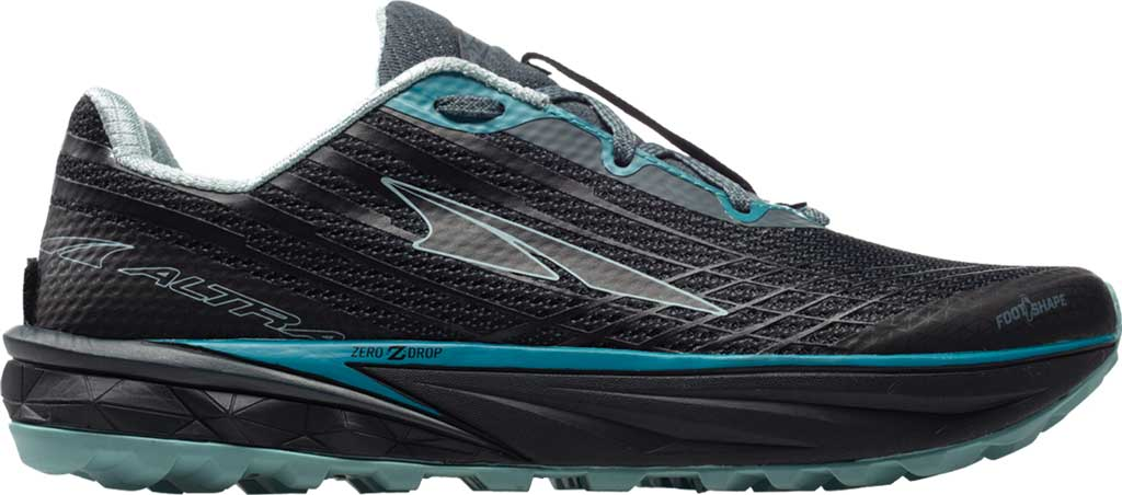 Women's Altra Footwear Timp 2 Trail Running Shoe, Black/Gray, large, image 1