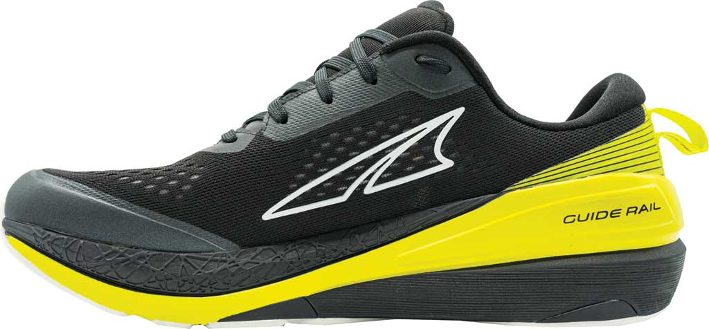 Men's Altra Footwear Paradigm 5 Running Sneaker, Black/Lime, large, image 2