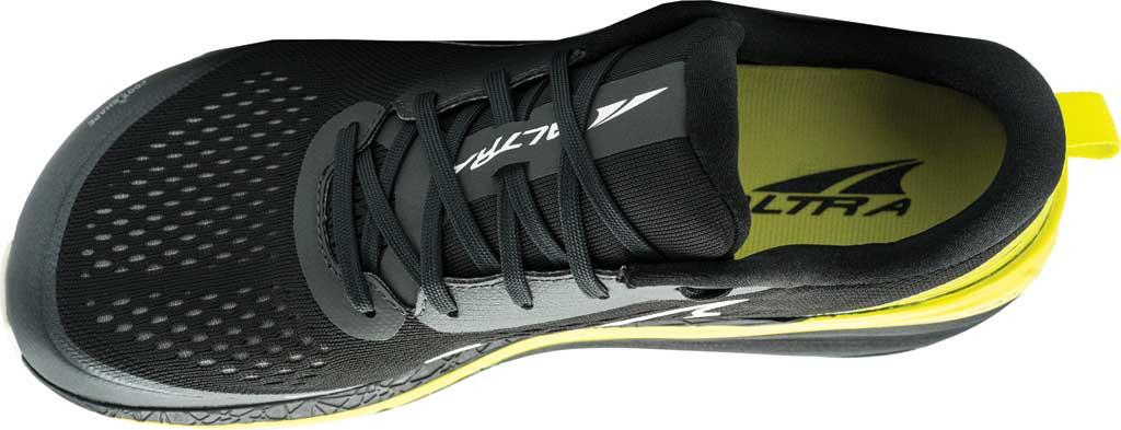 Men's Altra Footwear Paradigm 5 Running Sneaker, Black/Lime, large, image 3