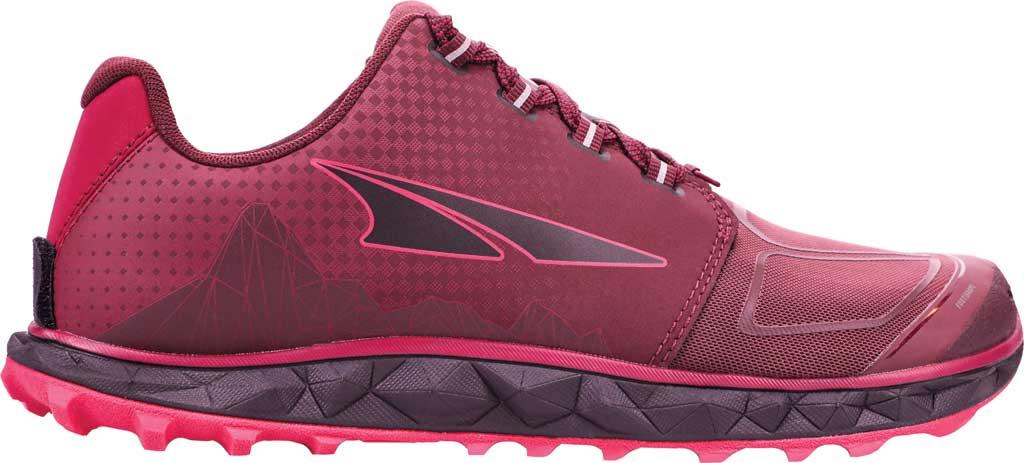 Women's Altra Footwear Superior 4.5 Trail Running Shoe, Black/Pink, large, image 1