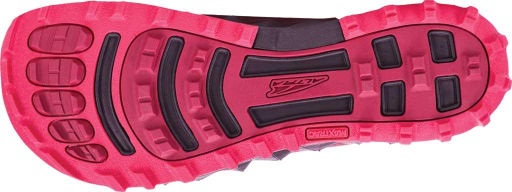 Women's Altra Footwear Superior 4.5 Trail Running Shoe, Black/Pink, large, image 4