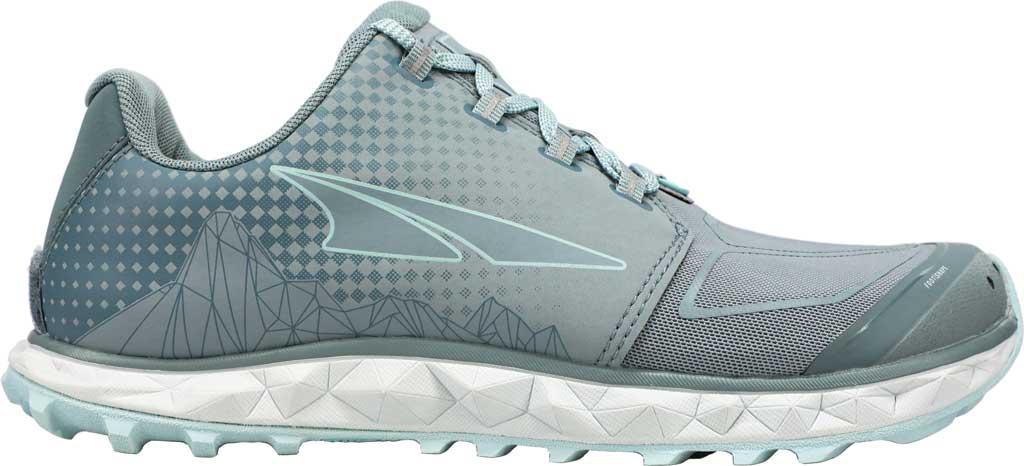 Women's Altra Footwear Superior 4.5 Trail Running Shoe, Light Blue, large, image 1