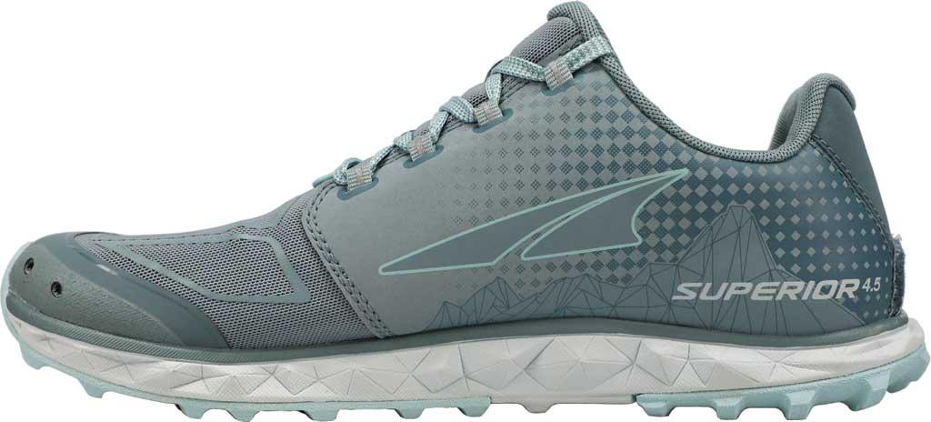 Women's Altra Footwear Superior 4.5 Trail Running Shoe, Light Blue, large, image 2