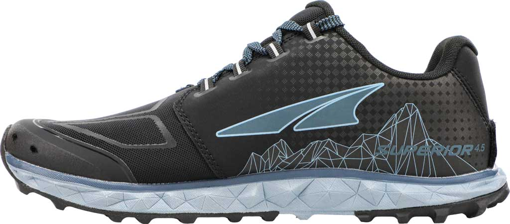 Women's Altra Footwear Superior 4.5 Trail Running Shoe, Dark Slate, large, image 2