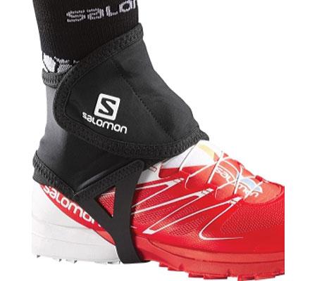 Salomon Trail Gaiters Low, Black, large, image 1