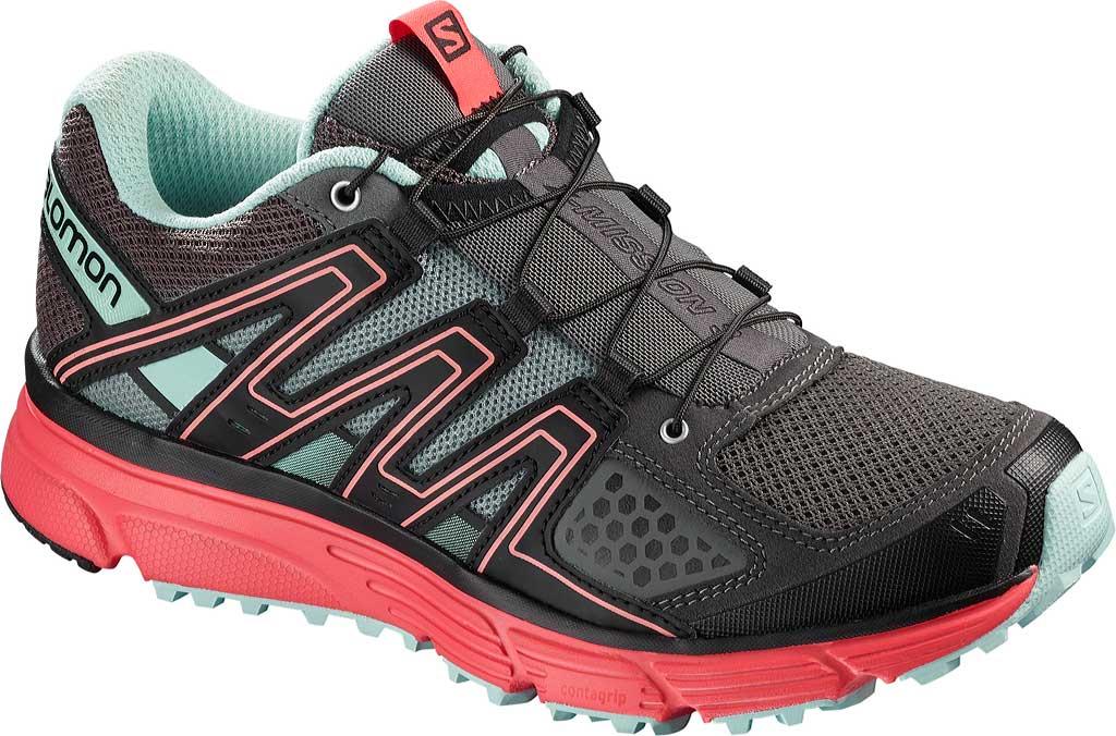 Women's Salomon X-Mission 3 Trail Running Shoe, Magnet, large, image 1