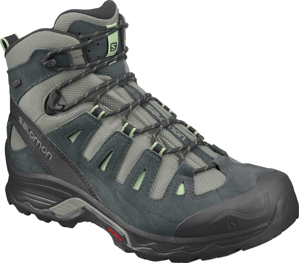 Women's Salomon Quest Prime GORE-TEX Ankle Boot, Shadow/Green Gables/Patina Green, large, image 1
