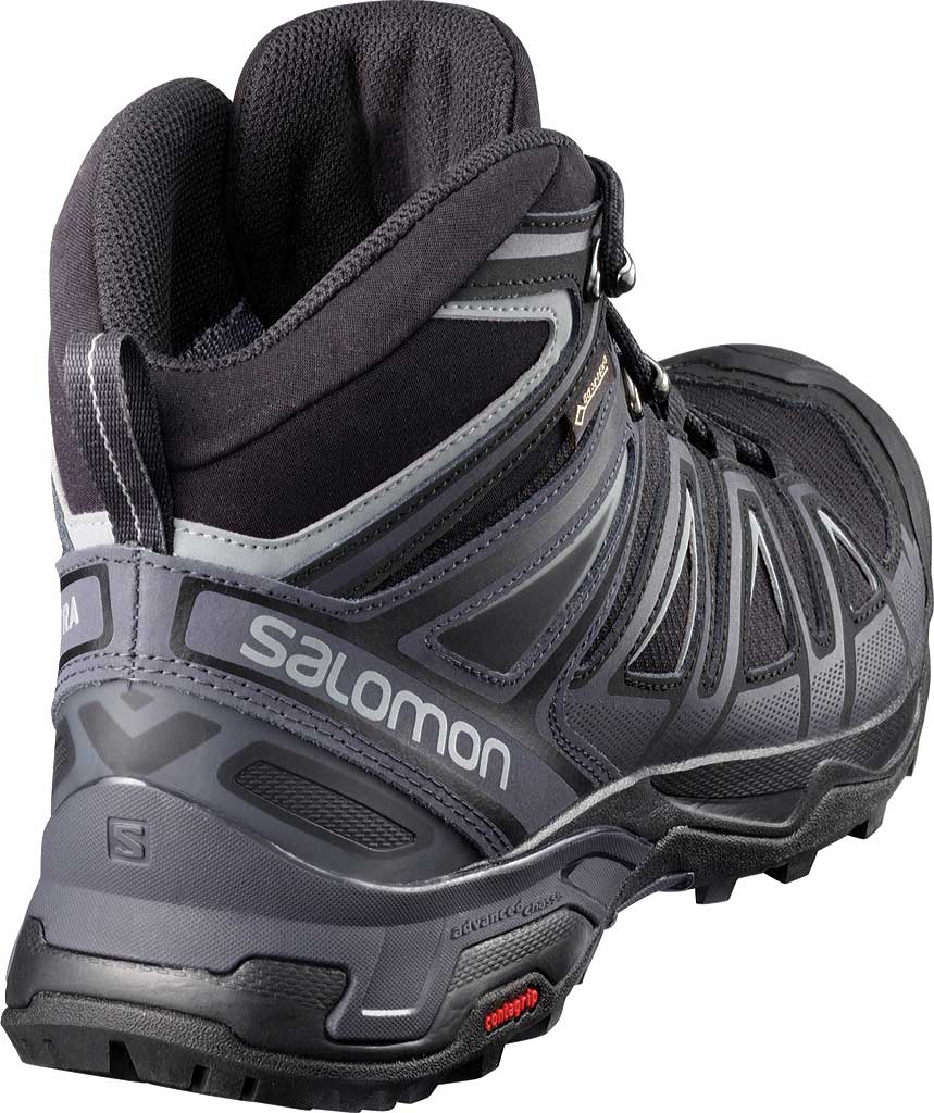 Men's Salomon X Ultra 3 Mid GOR-TEX Hiking Shoe, Black/India Ink, large, image 2