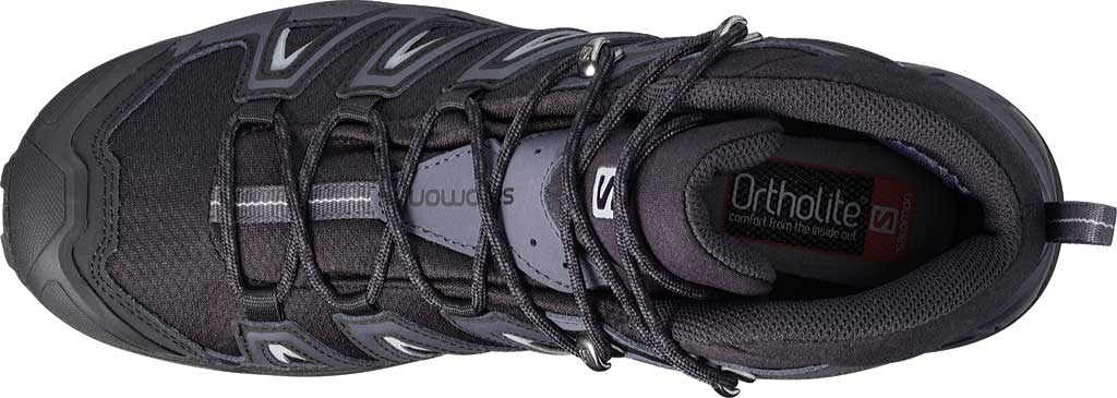 Men's Salomon X Ultra 3 Mid GOR-TEX Hiking Shoe, Black/India Ink, large, image 3