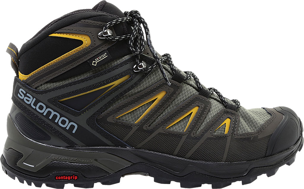 Men's Salomon X Ultra 3 Mid GOR-TEX Hiking Shoe, , large, image 2