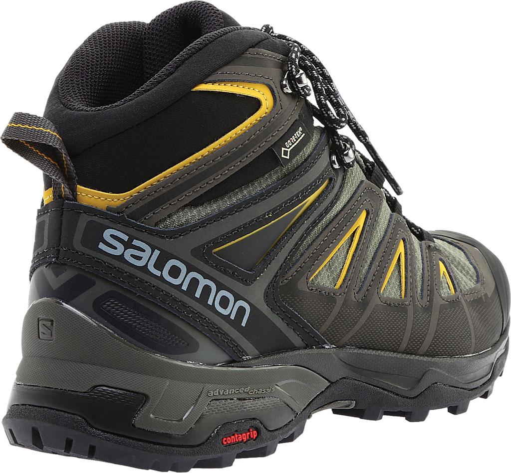 Men's Salomon X Ultra 3 Mid GOR-TEX Hiking Shoe, Black/India Ink, large, image 4