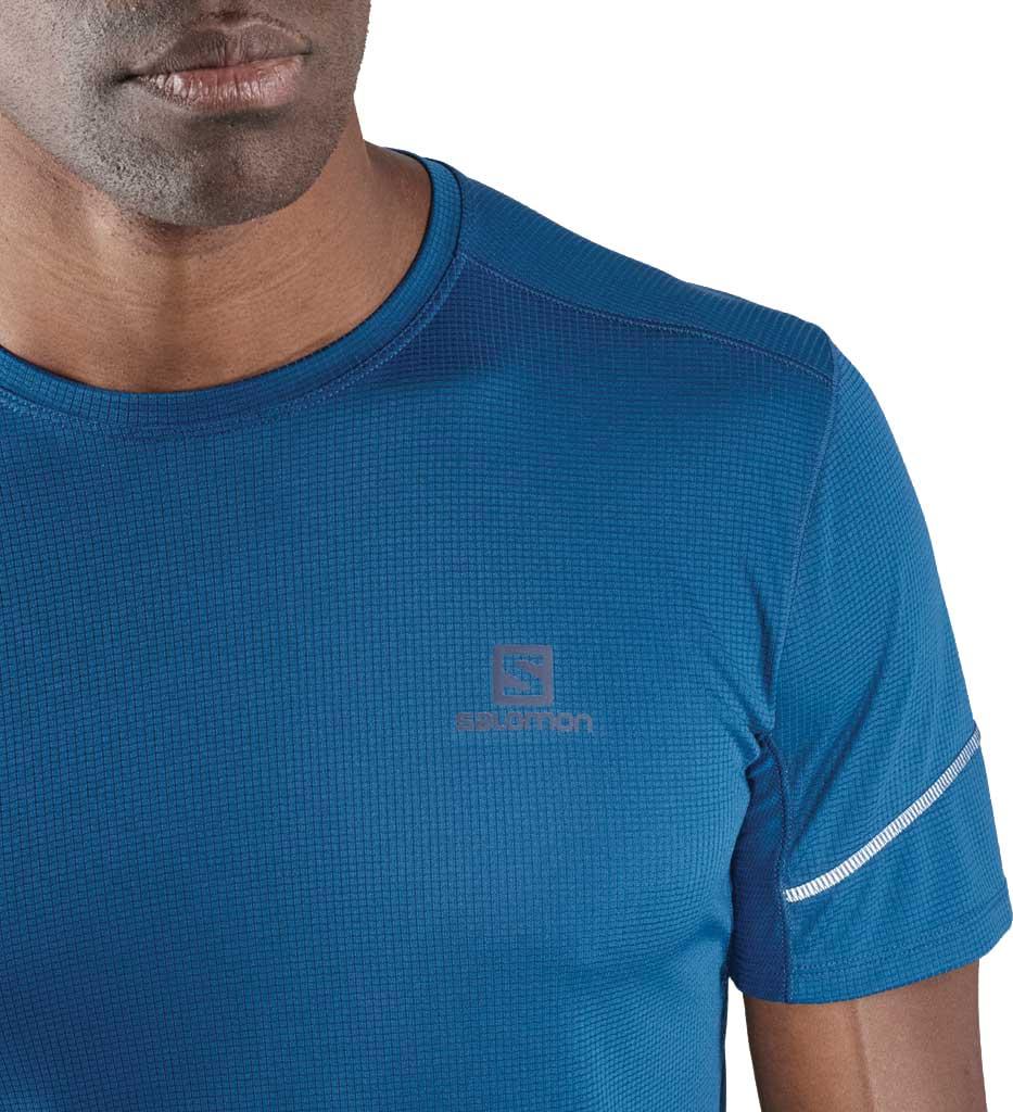 Men's Salomon Agile Short Sleeve Tee, , large, image 2