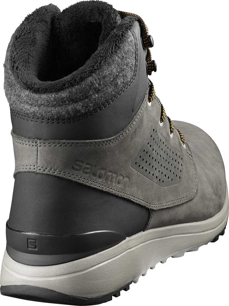 Men's Salomon Utility Winter ClimaSalomon Waterproof Sneaker, Beluga/Black/Green Sulphur, large, image 2