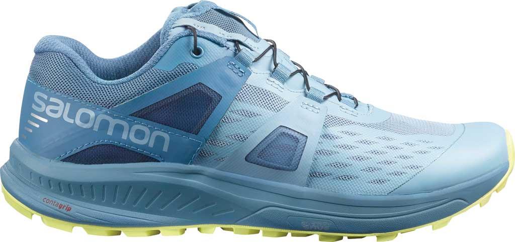 Women's Salomon Ultra Pro Running Sneaker, Ashley Blue/Copen Blue/Charlock, large, image 1