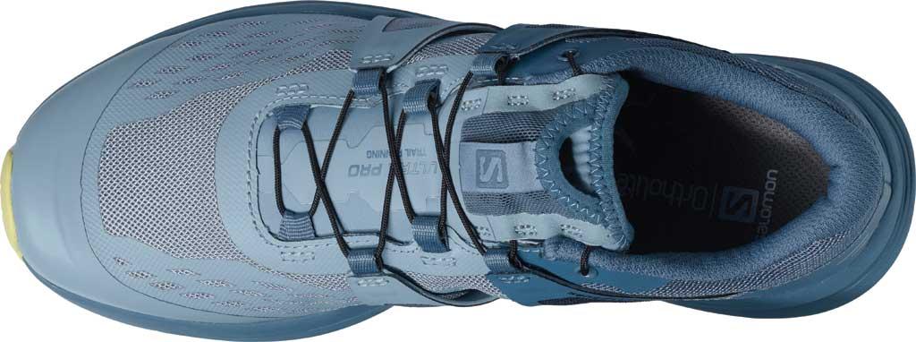 Women's Salomon Ultra Pro Running Sneaker, Ashley Blue/Copen Blue/Charlock, large, image 3