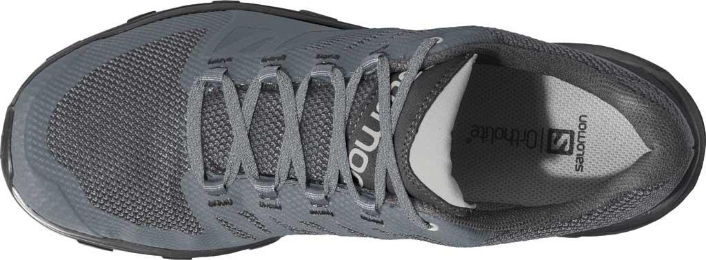 Women's Salomon OUTline GTX Hiking Shoe, Stormy Weather/Black/Lunar Rock Mesh/Synthetic, large, image 3