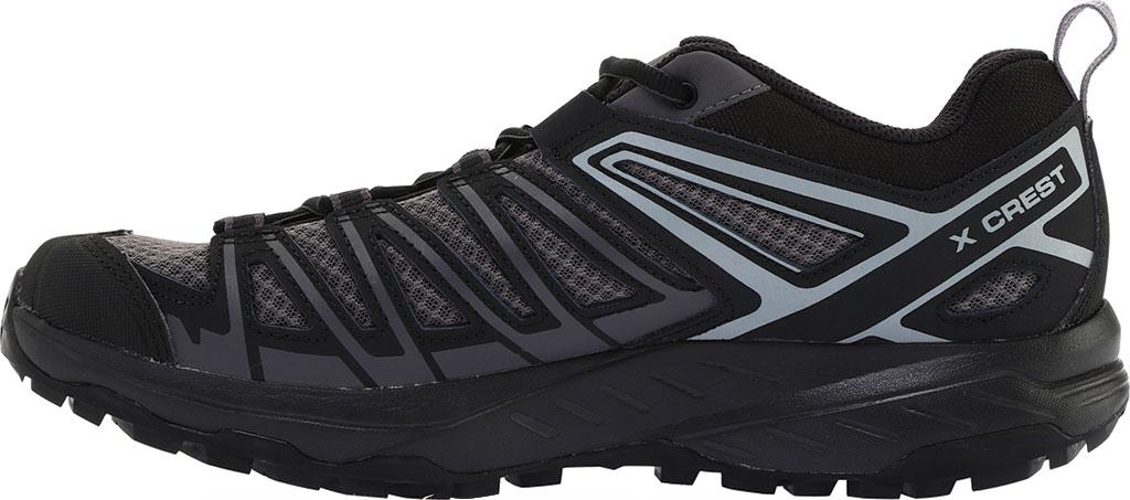 Men's Salomon X Crest Hiking Boot, Magnet/Black/Monument, large, image 3